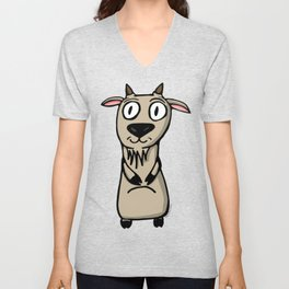 Lé Goat Unisex V-Neck