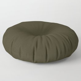 Home Sweet Home ~ Dark Olive Green Floor Pillow