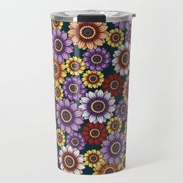 Gazania Kaleidoscope Travel Mug