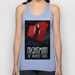 Nightman: The Animated Series Unisex Tank Top