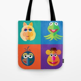 Muppet Minimalism Tote Bag