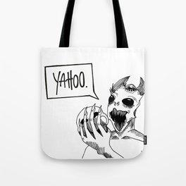 Yahoo. Tote Bag