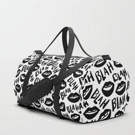 Blah Blah Blah Duffle Bag