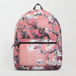 Van Gogh Almond Blossoms : Peachy Pink Backpack