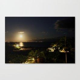 Light Invades Night Canvas Print