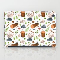 woods iPad Cases featuring Woods by Julia Bereciartu