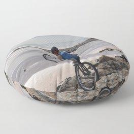 Dawlish Warren Rockhopper Floor Pillow