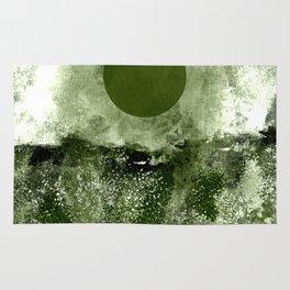 Dark Moon Landscape Rug