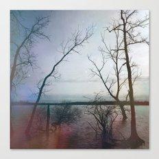 Kindred Spirits - Blue Canvas Print