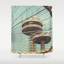 imprisoned towers... Shower Curtain