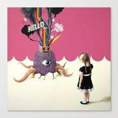 Hello Ruby Canvas Print