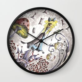 We're All Mad Wall Clock