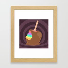 Trip or Treat Framed Art Print