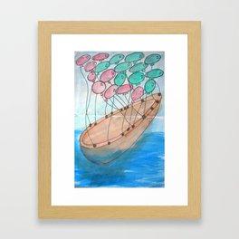 Fly me Away... Framed Art Print