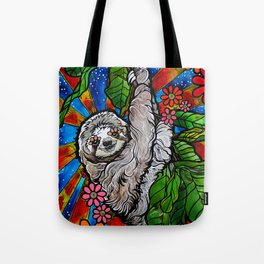 Happy Sloth Tote Bag