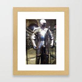 Standing Proud as a King Framed Art Print