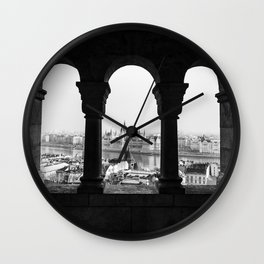 Room with a view. Wall Clock