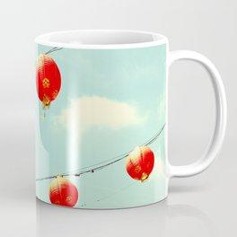 Lanterns III, Chinatown Coffee Mug