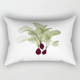 Radish X-ray Rectangular Pillow