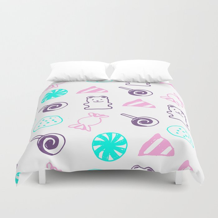 candy Lover Duvet Cover