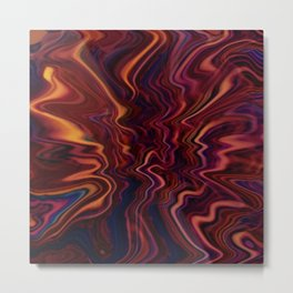 Dazed and Colorful Metal Print