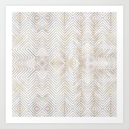 Royalty || #pattern #minimal Art Print