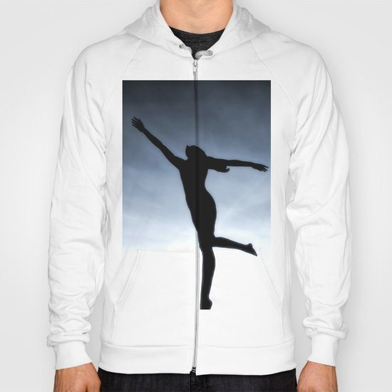 Dance to the light fantastic (Nude) Hoody