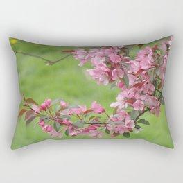 BLOOMING PURPLE APPLE TREE  Rectangular Pillow