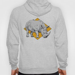 Rhino Yellow Hoody