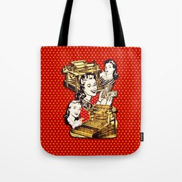 Quirky Office Gals Tote Bag
