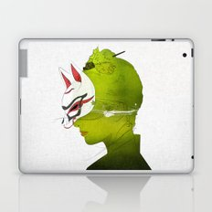 Fox Mask _side face Laptop & iPad Skin