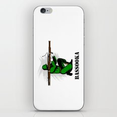 Bassoon Bassooka iPhone & iPod Skin