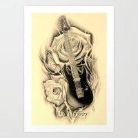 lip Art Prints featuring LIP by 2ndwrath