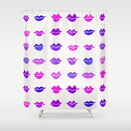 Kiss Collection – Indigo Palette Shower Curtain