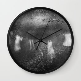 A view from the window Wall Clock