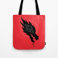 Fire & Blood Tote Bag