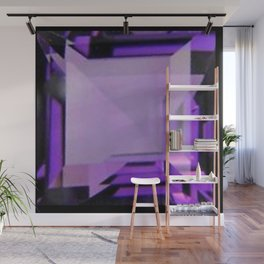 PURPLE FEBRUARY AMETHYST GEMS Wall Mural
