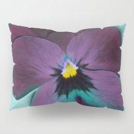Purple viola tricolor Pillow Sham