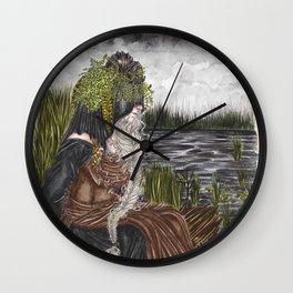 Nerthus the Earth Goddess Wall Clock