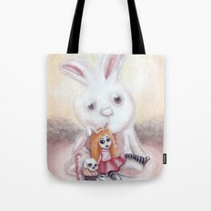 Ester and Bunny Tote Bag