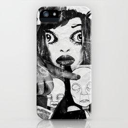 Claudinita iPhone Case