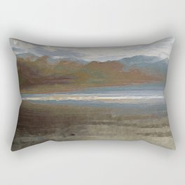 Yet another lake & mountain landscape | 1 Rectangular Pillow