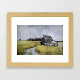 An Honorable Pact with Solitude Framed Art Print