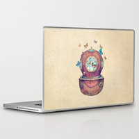 write Laptop & iPad Skins featuring Inner Space by Terry Fan