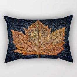 Autumnal Leaf Rectangular Pillow