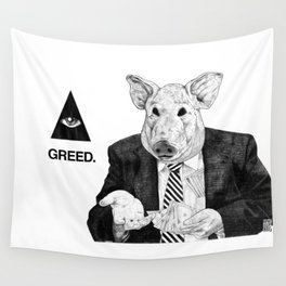 SEVEN DEADLY SINS : GREED. Wall Tapestry