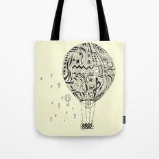 balloon trip Tote Bag