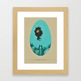 Indominus Framed Art Print