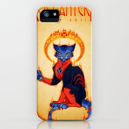 Le Chat Rogue iPhone Case