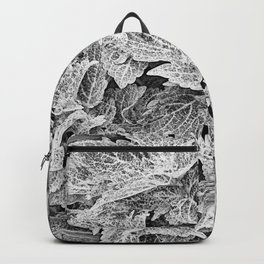 coleus black and white Backpack